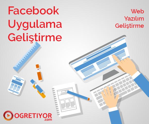 Facebook Uygulama Geliştirme