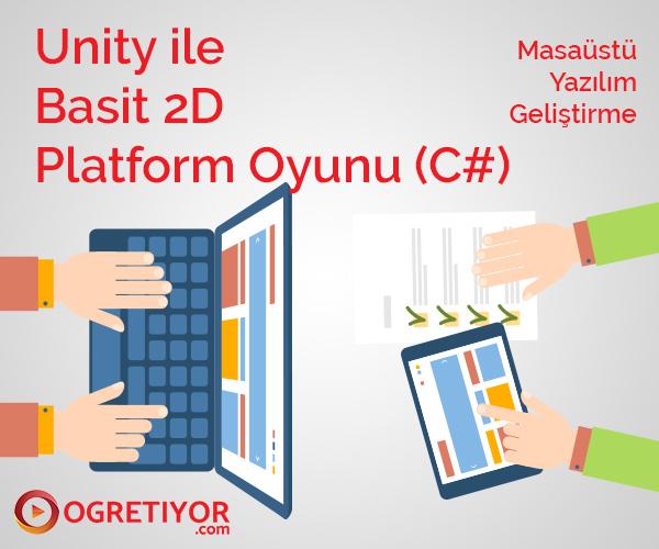 Unity ile basit 2D Platform Oyunu (C#)