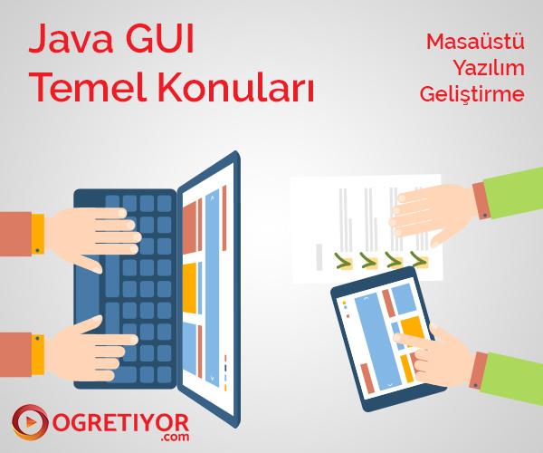 Java GUI Eğitim seti(Temel Konuları)