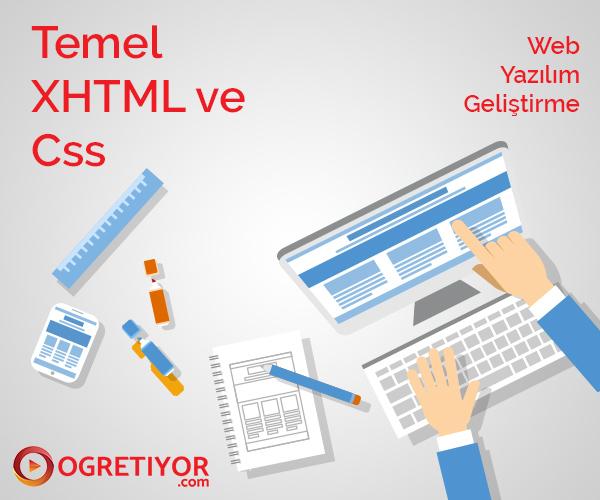 Temel XHTML ve Css