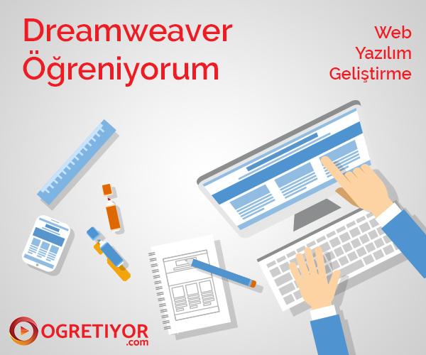 Dreamweaver Öğreniyorum