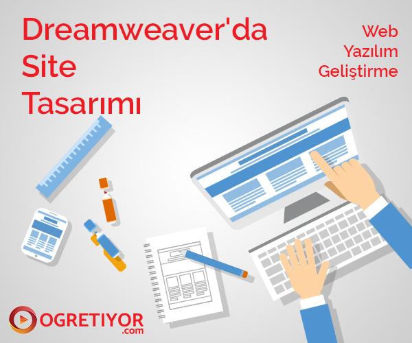 Dreamweaver'da Site Tasarımı