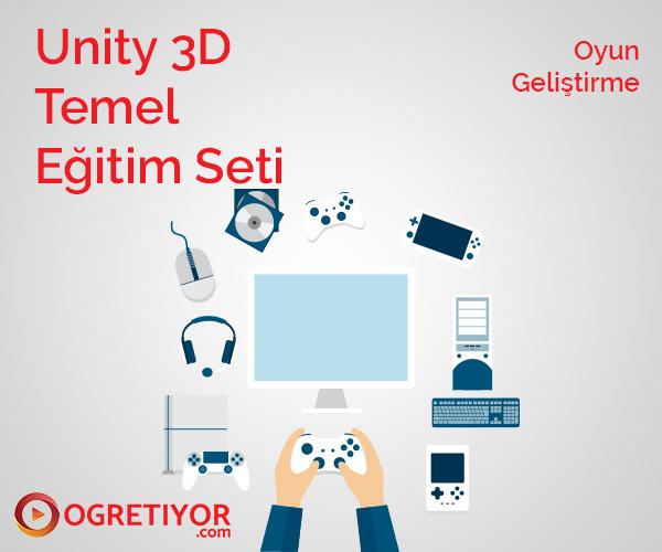 Unity 3D Temel Eğitim Seti