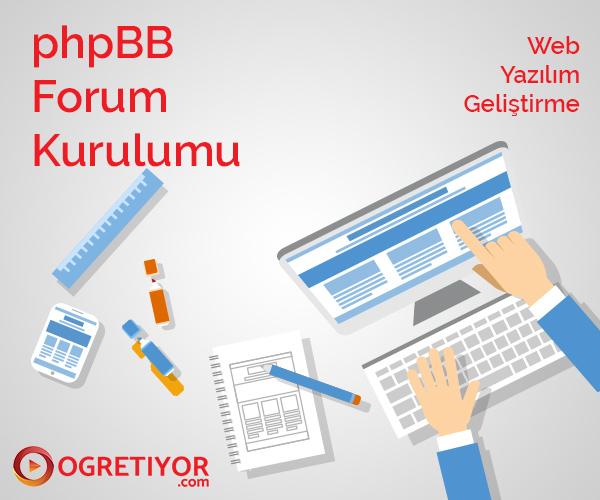 Forum Kurulumu - phpBB