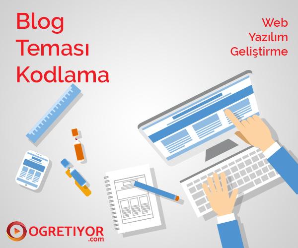 Blog Teması Kodlama
