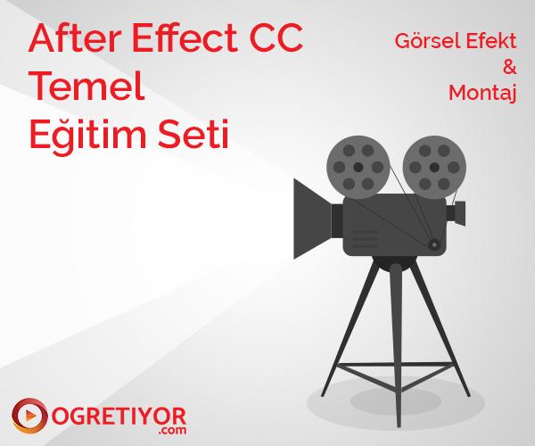 After Effect CC - Temel Eğitim Seti