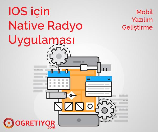 IOS için Native Radyo Uygulaması